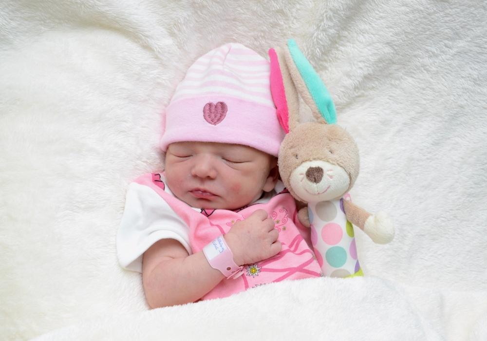 Willkommen Mila Maylin Schilling. Foto: babysmile24.de