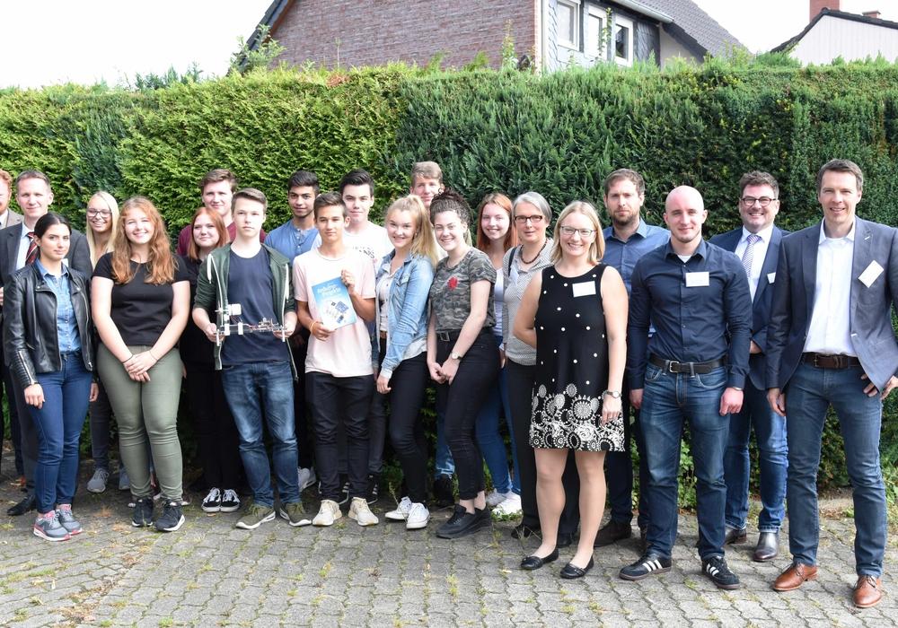 Die Beteiligten freuen sich auf das Projekt. Foto: Katharina Artmann