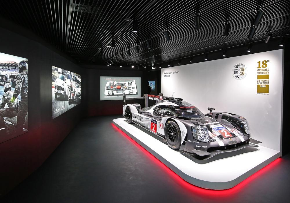 Das Siegerauto des letztjährigen 24-Stunden-Rennen von Le Mans. Foto: Matthias Leitzke / Autostadt
