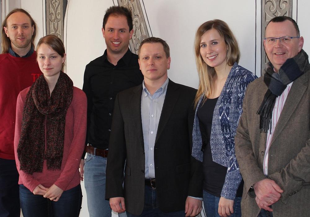 Mitarbeiter der Wirtschaftsförderung Wetzlar informierten sich in Wolfenbüttel über das Projekt Online City. Foto: Stadt Wolfenbüttel