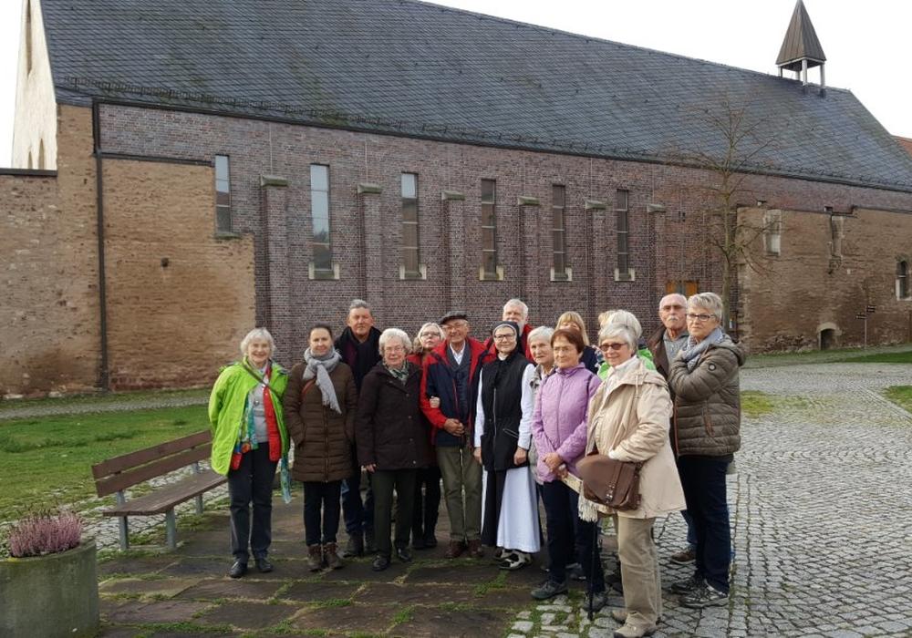 """Für die Senioren im Kreisverband Wolfenbüttel der Gewerkschaft """"Erziehung und Wissenschaft"""" ging es in die Lutherstadt Eisleben. Foto: Renner"""