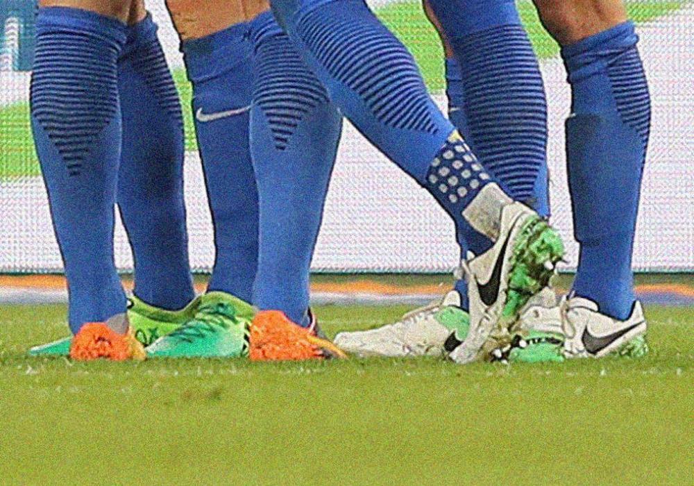 Taten ihren Dienst dennoch: Fußballschuhe der Braunschweiger. Symbolfoto: Agentur Hübner