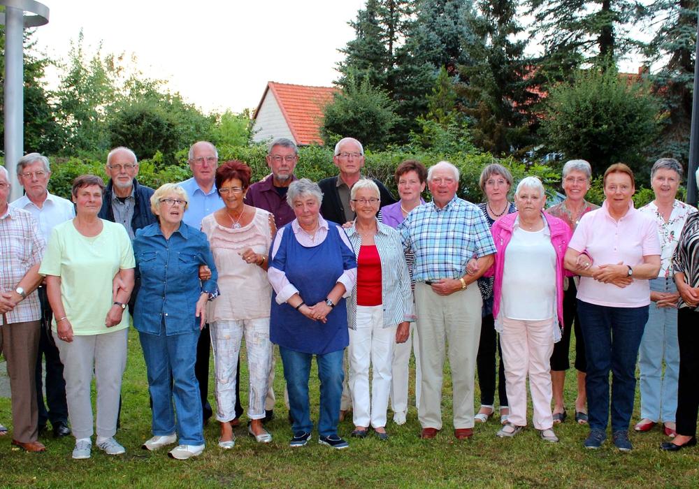 In Hornburg traf sich am Freitagabend die Klasse von  1951.  Foto: Bernd-Uwe Meyer