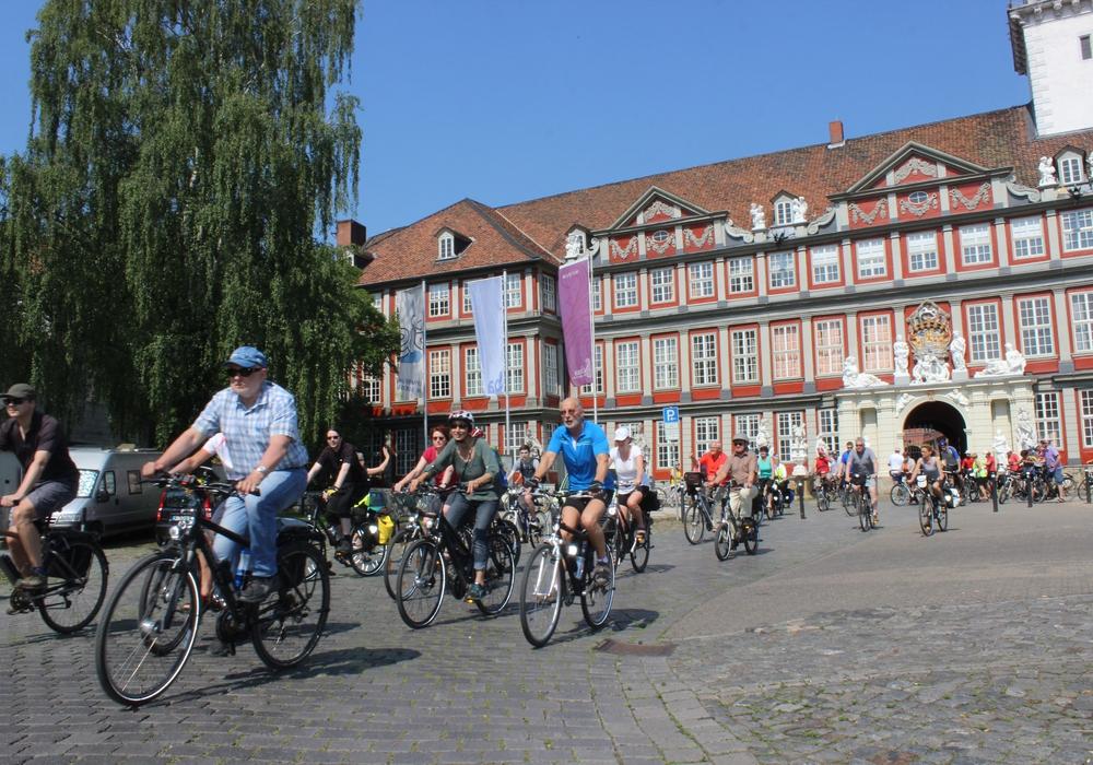 Wolfenbüttel hat die zufriedensten Radfahrer in der Region, das besagt eine Umfrage des ADFC: Foto: