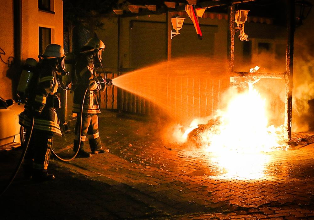 In Wolfsburg geht ein Feuerteufel um. Symbolfoto: Werner Heise