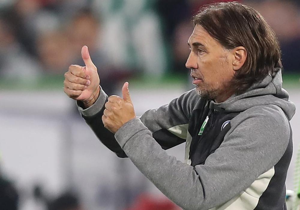 VfL-Trainer Martin Schmidt ist der Unentschieden-König der Liga. In 13 Partien mit dem VfL holte er neun Remis. Foto: Agentur Hübner/Archiv