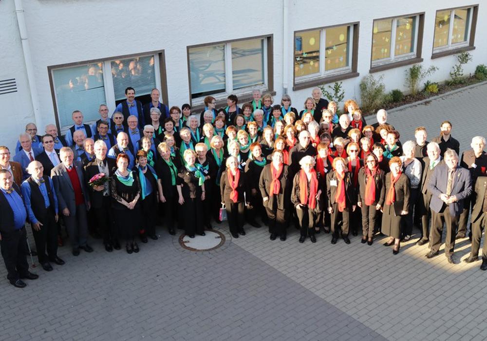 In Sickte fand das Deutsch-französisches Chortreffen statt. Fotos: Margit Richert