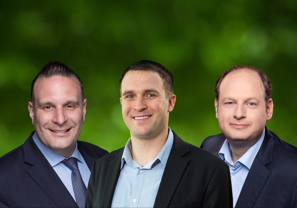 Oliver Schatta, Michael Berger und Jan-Tobias Hackenberg kritisieren den Umgang mit der Polizei. Foto: CDU