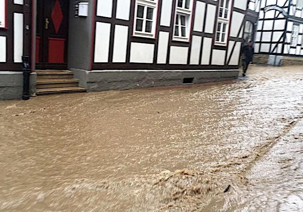 Im Sommer 2017 war das Stadtgebiet von Goslar stark von Hochwasser betroffen. Foto: Archiv/Frederick Becker