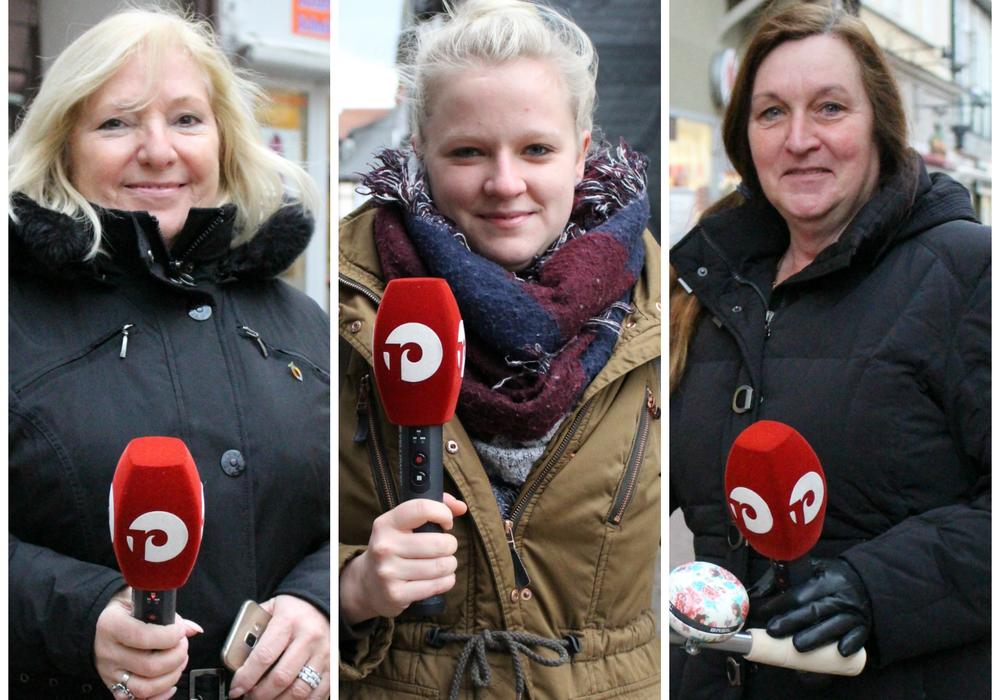 """Von links: Eva Kowalewski, Carolin Christen und Uta Navarien trotzen dem """"Unglücks-Freitag"""". Foto: Wenkel"""