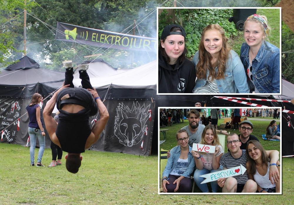 Freudensprünge und glückliche Gesichter beim Summertime Festival 2017. Fotos: Nick Wenkel