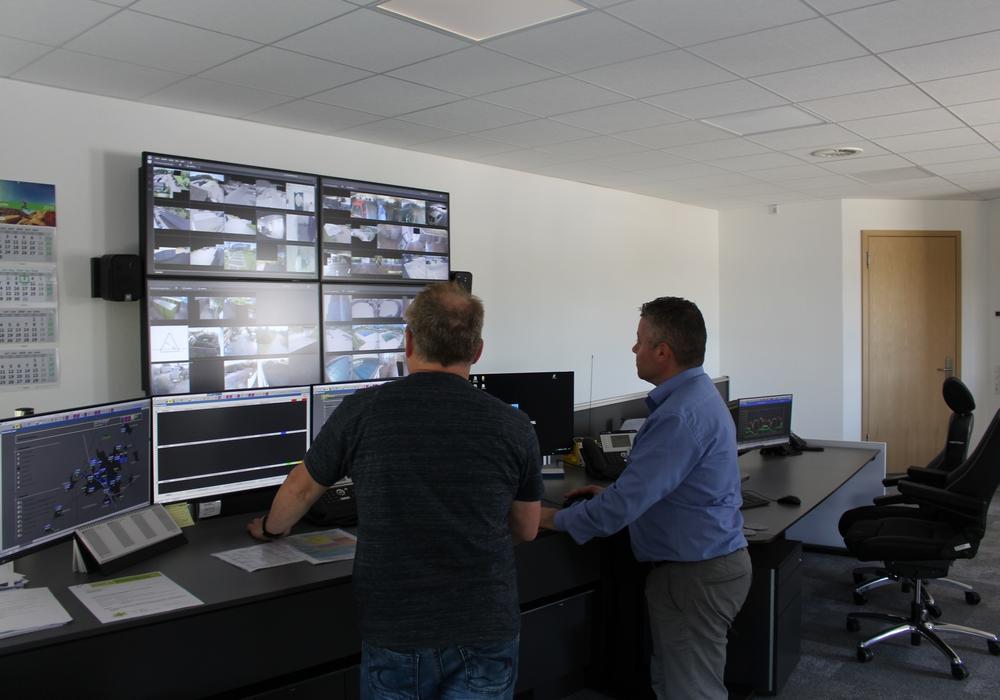 Die Netzwarte ist das Kontrollzentrum der Stadtwerke. Hier laufen die Störungsmeldungen auf. Symbolfoto: Jonas Walter