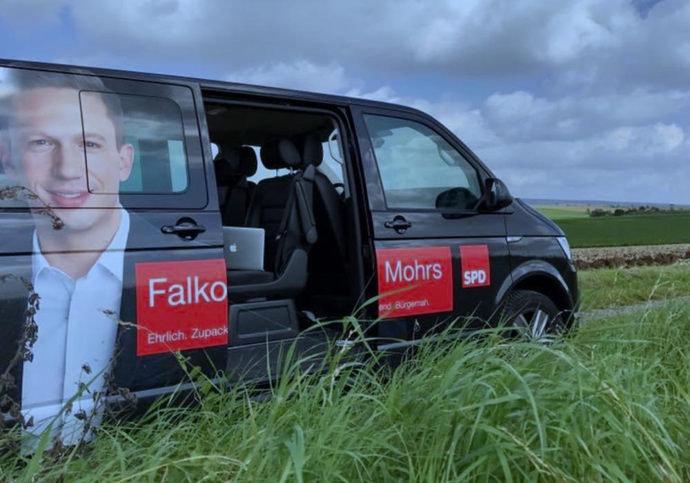 Falko Mohrs lädt zur Infoveranstaltung. Die SPD bildet Fahrgemeinschaften. Foto: SPD