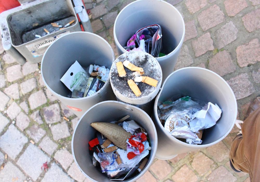 Ein Beispiel für Pfandsammelbehälter aus Goslar. Symbolfoto: regionalHeute.de