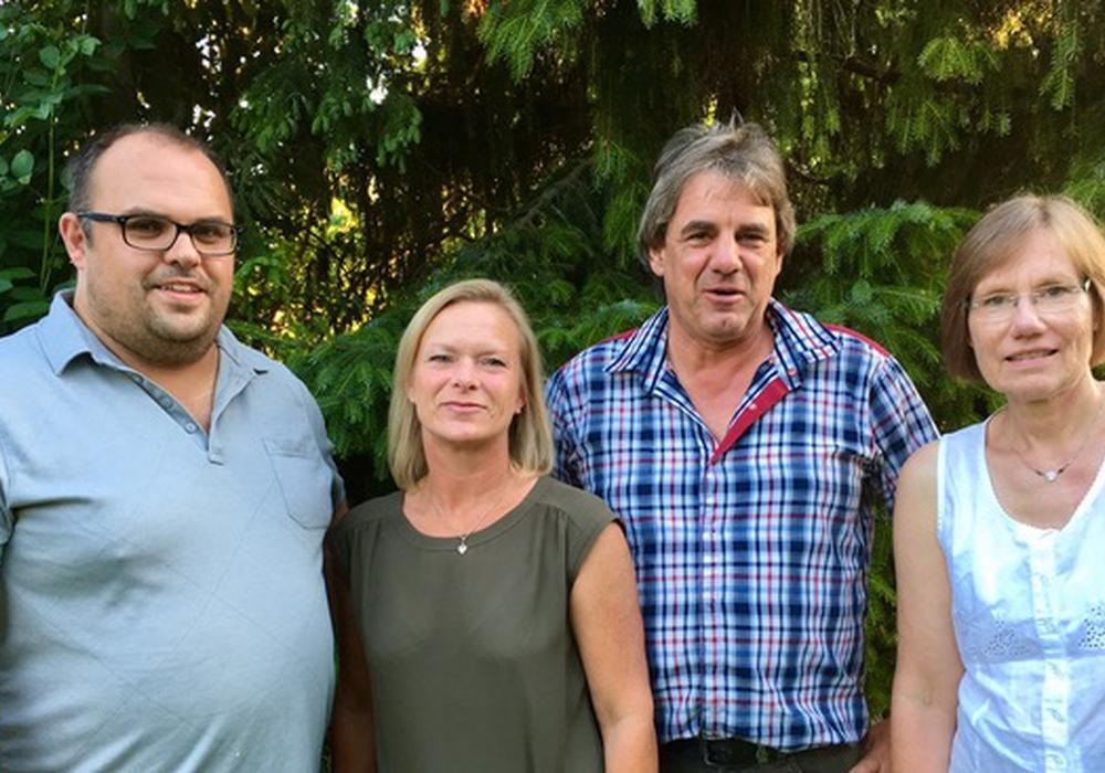 Von links: Matthias Olschack, Dunja Kreiser, Jörg Brendel, Irene Mutke. Foto: Privat