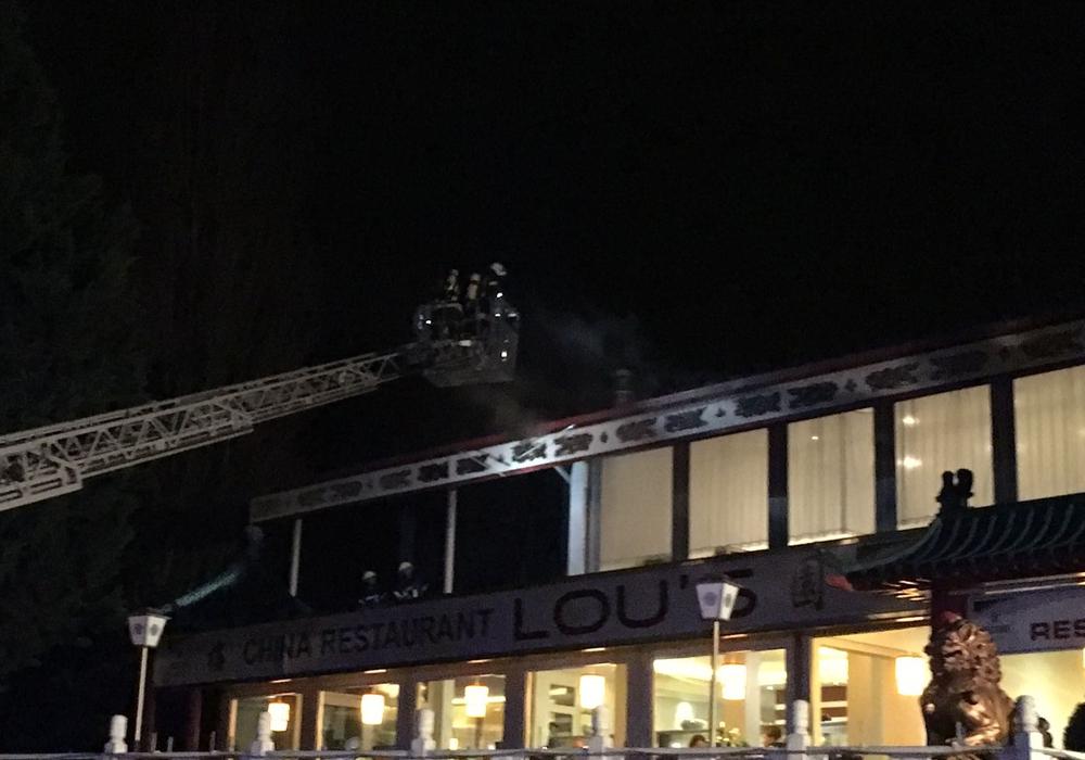 Die Feuerwehr Vorsfelde musste gestern zu Lou´s ausrücken. Foto: Feuerwehr Vorsfelde