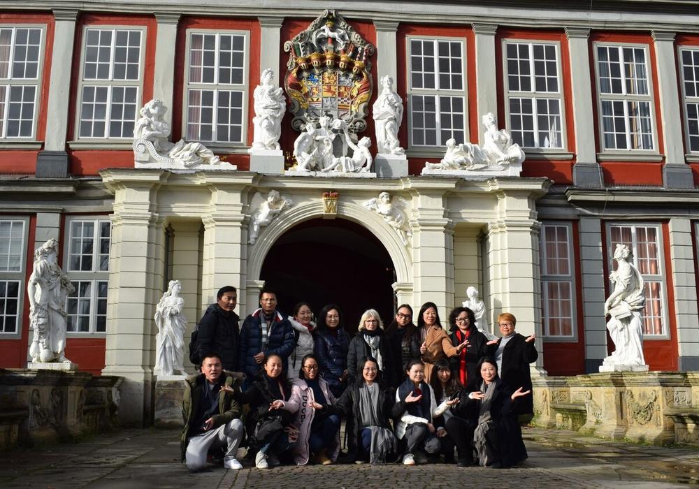 Derzeit befinden sich Lehrer aus Shanghai zu Besuch in Wolfenbüttel. Foto: Christiane Thoroe