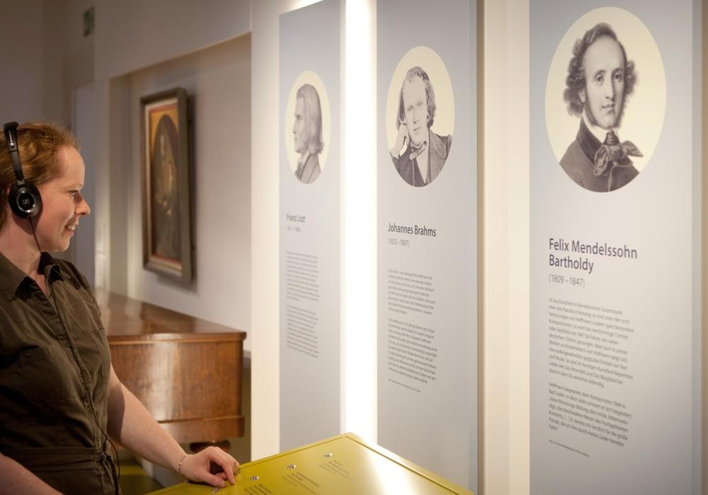 """Anregungen zum Nachdenken: Wie stehen wir zu """"Einigkeit und Recht und Freiheit"""" (Foto: Hoffmann-von-Fallersleben-Museum/Meike Netzbandt)"""
