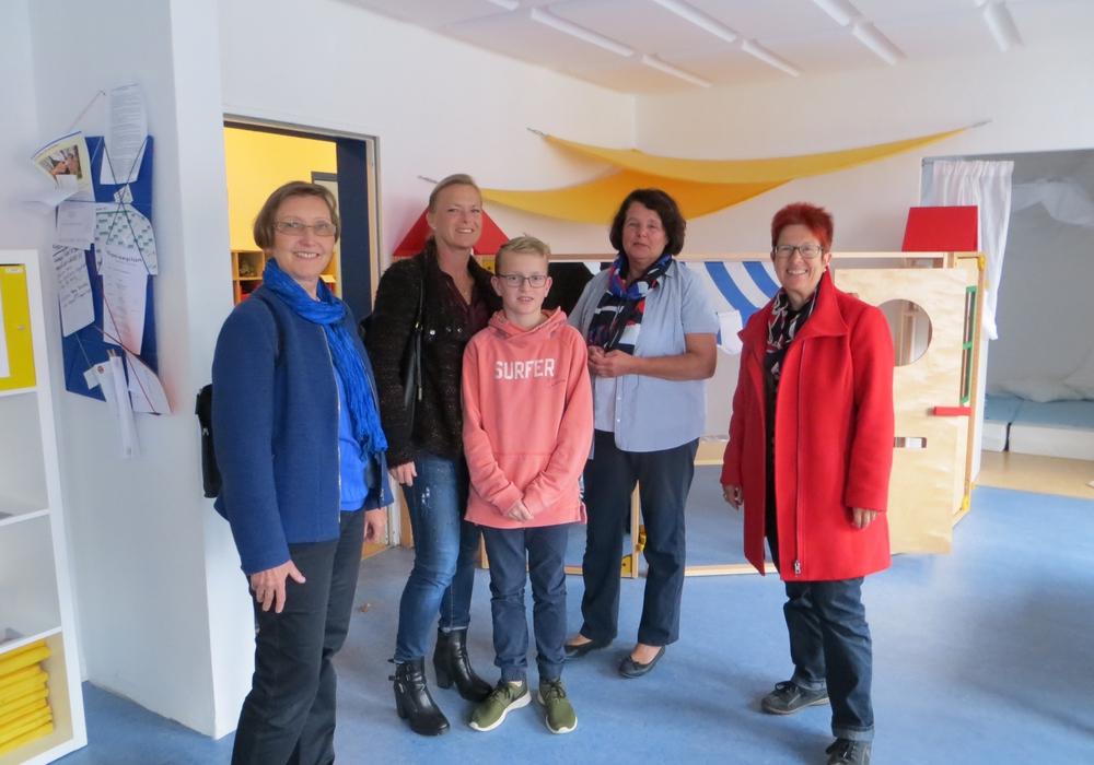 Die SPD-Landtagskandidatin Dunja Kreiser besuchte mit  Mitgliedern der Arbeitsgemeinschaft sozialdemokratischer Frauen. Foto: Privat