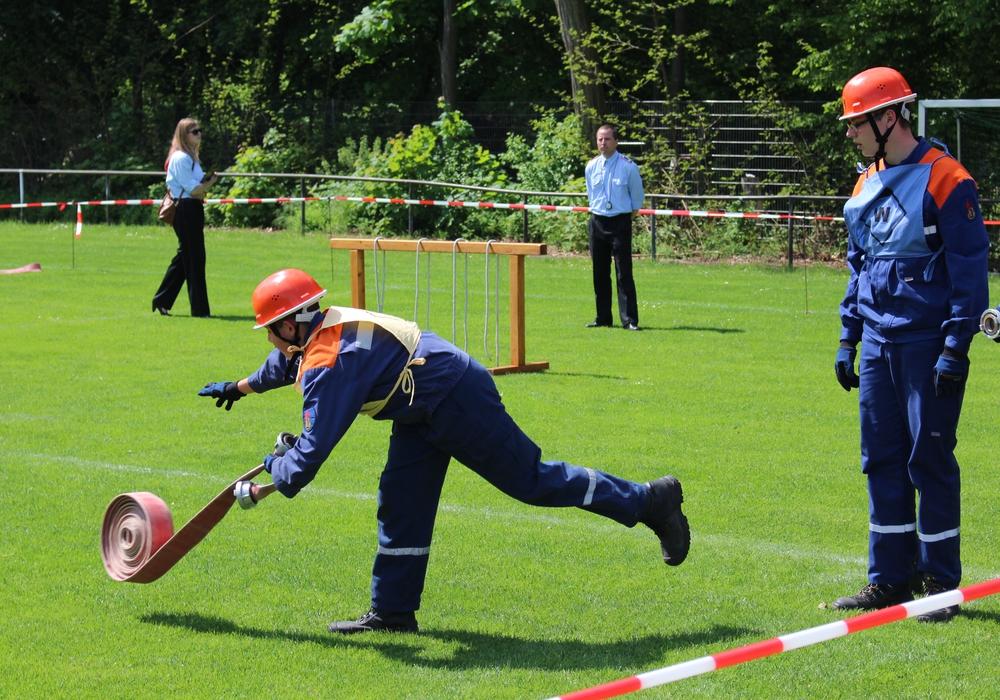 Unter anderem mussten die Teilnehmer ihre technischen Fähigkeiten unter Beweis stellen. Fotos: Sandra Zecchino