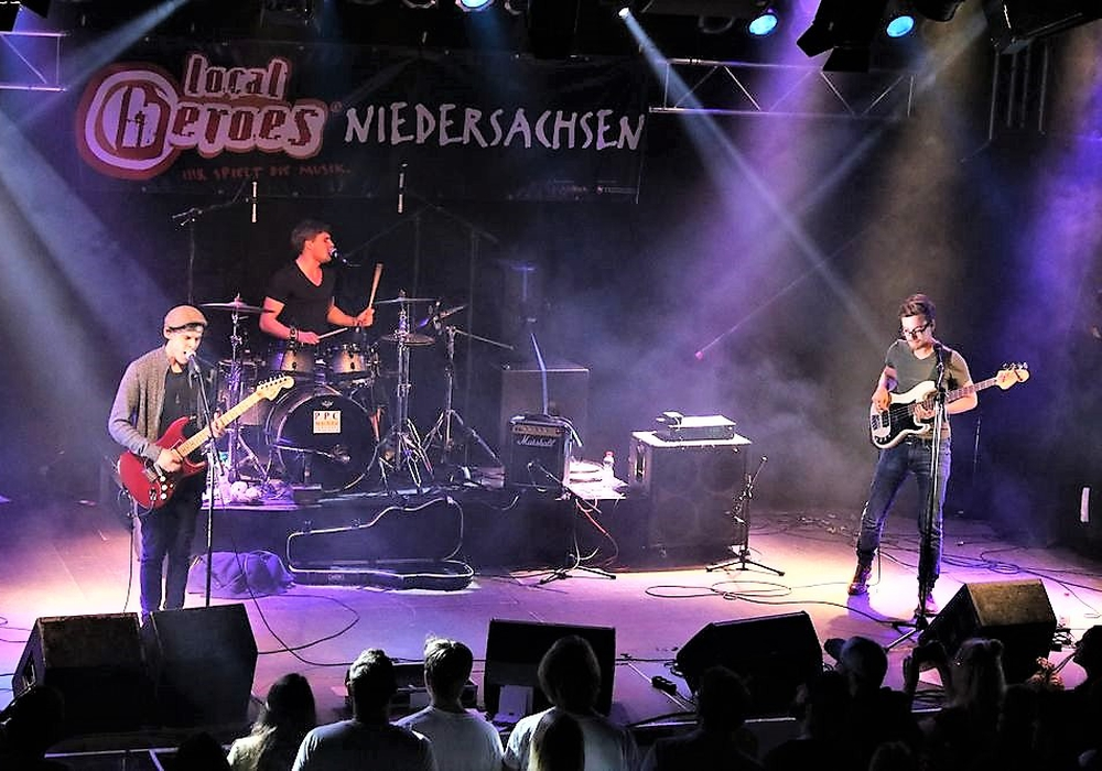 """KITOKAYA"" beim Landesfinale ""local heroes"" in Hannover. Foto: C.Thiem/Rockbüro"