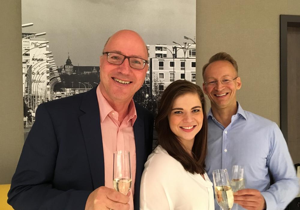 v.l.n.r: Dr. Hans-Joachim Throl, Kristin Krumm und Markus Nöhre. Foto: FDP