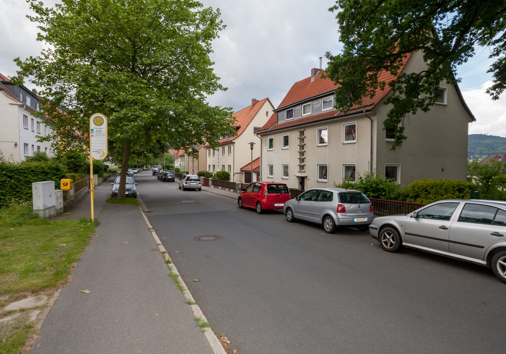 Die Siemensstraße im gleichnamigen Viertel. Foto: Alec Pein