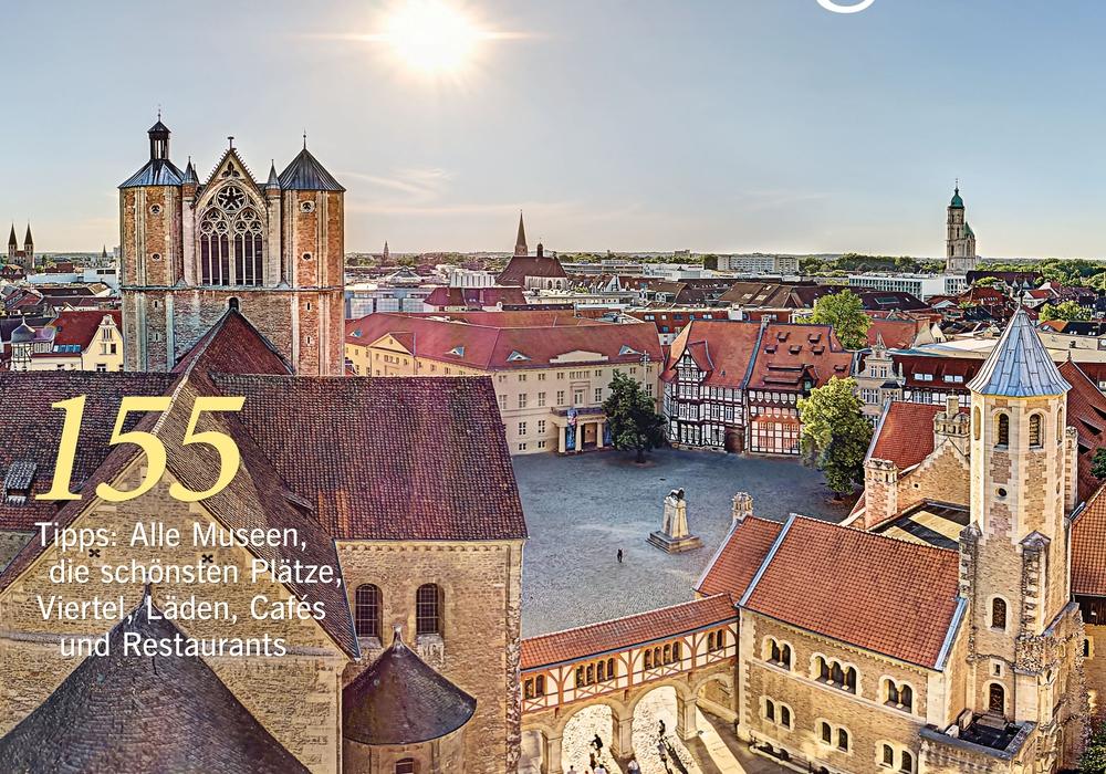 Das im September 2016 erschienene MERIAN-Heft über Braunschweig präsentiert die Löwenstadt als vielseitiges Reiseziel mit facettenreicher Vergangenheit, einer interessanten Forschungslandschaft und einem abwechslungsreichen Kulturangebot. Foto: Jahreszeiten Verlag
