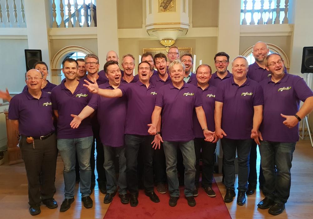 Zusammen mit dem Chor fand der Gottesdienst statt. Foto: Ev.-luth. Kirchenkreis Peine