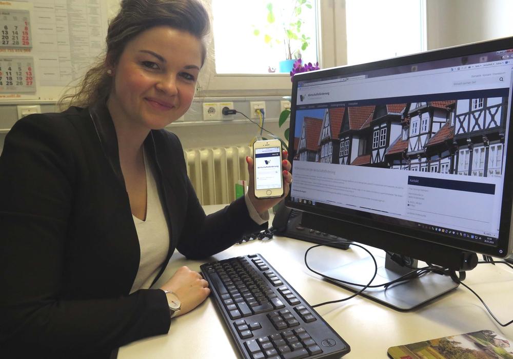 Die Internetseite der Wirtschaftsförderung die Unternehmen ist nun online. Foto: Landkreis Wolfenbüttel