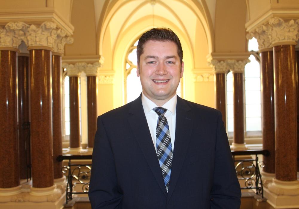 Dr. Thorsten Kornblum soll für die SPD neuer Oberbürgermeister werden.