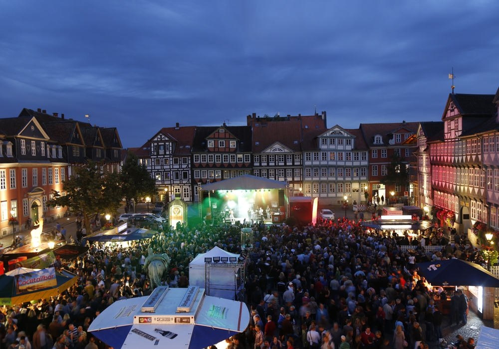 Das Altstadtfest hat auch musikalisch viel zu bieten. Unter anderem kommt MIA. Foto: Thorsten Raedlein