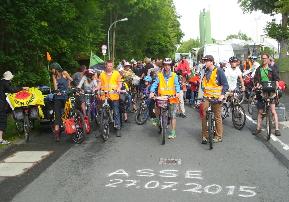 """Die """"Tour de Natur"""" auf dem Weg nach Remlingen und Asse II. Foto: Privat"""