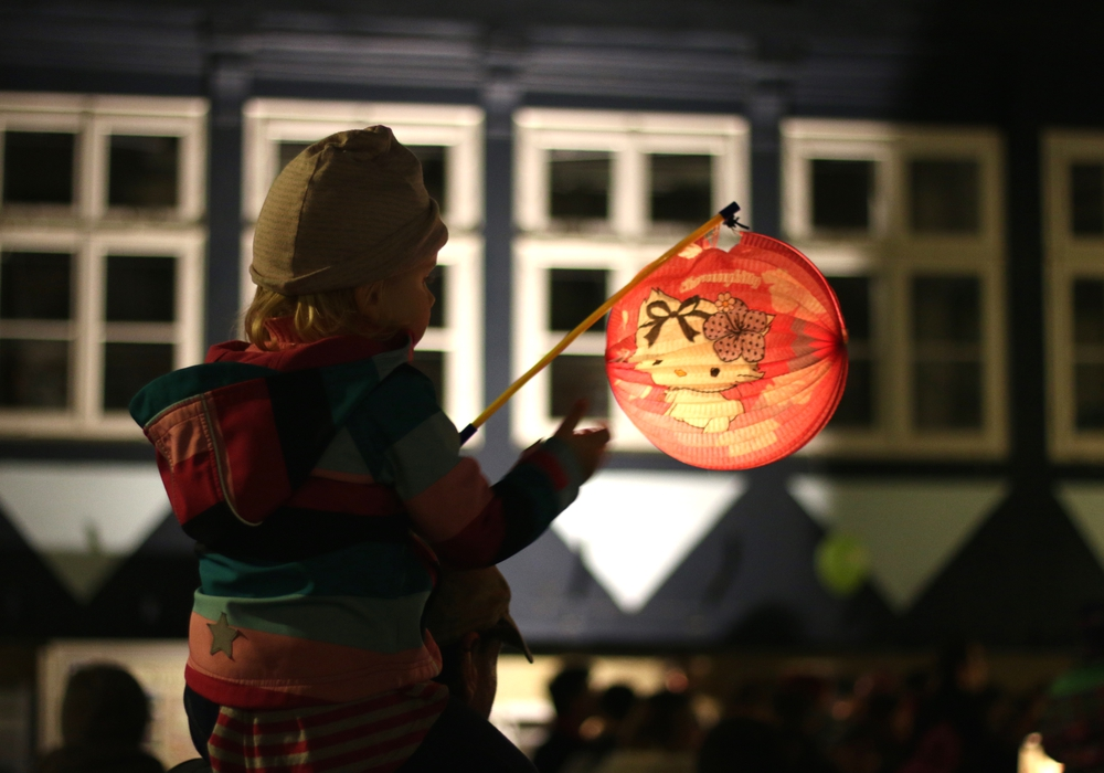 Am 3. November ist in Wendessen Laternenumzug. Foto: Werner Heise