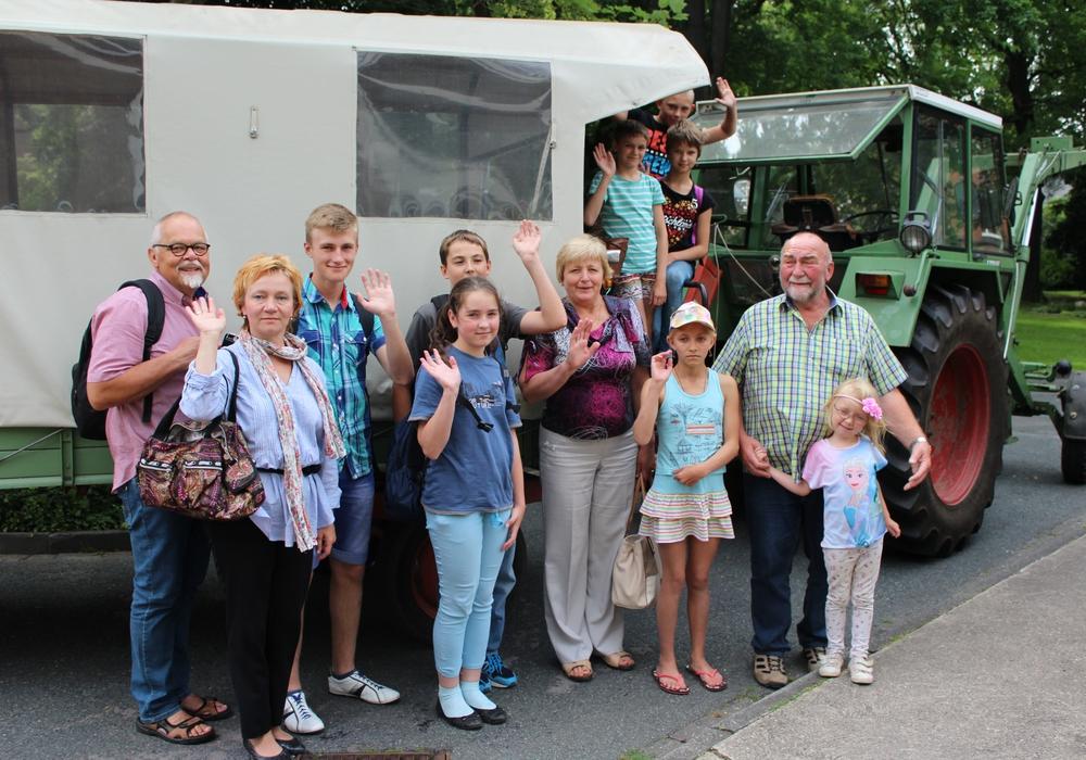 Die Reisegruppe aus Weißrussland. Fotos: Stadt Peine