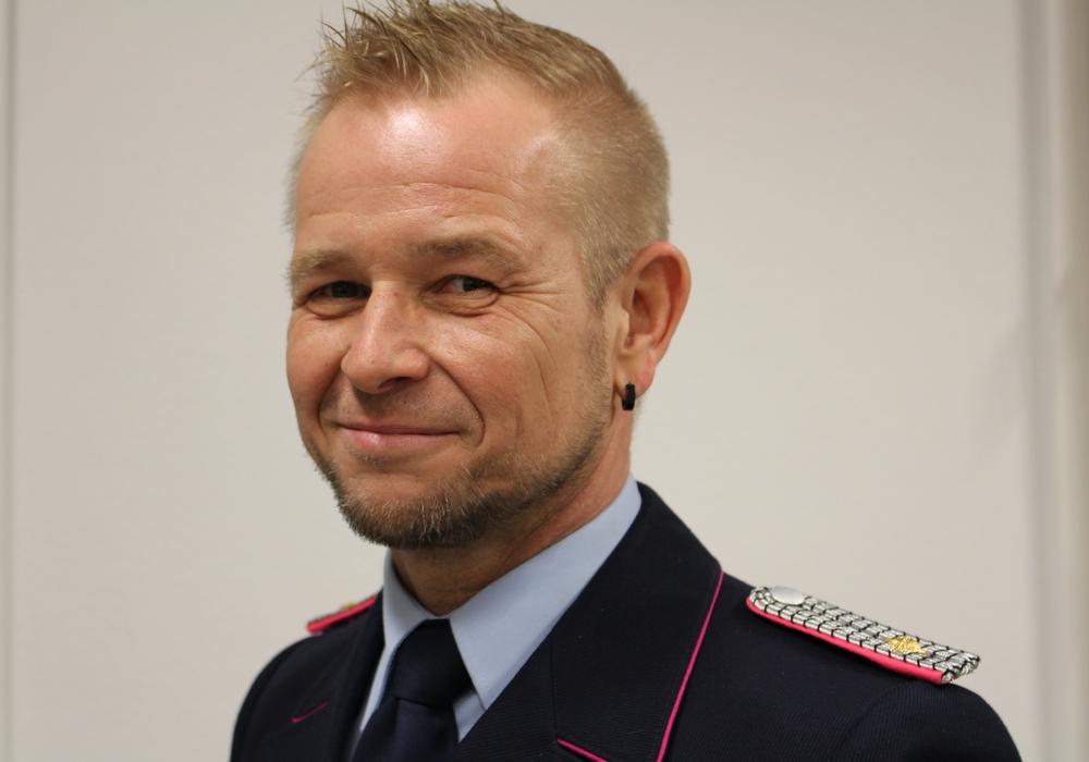 Stadtbrandmeister Olaf Glaeske