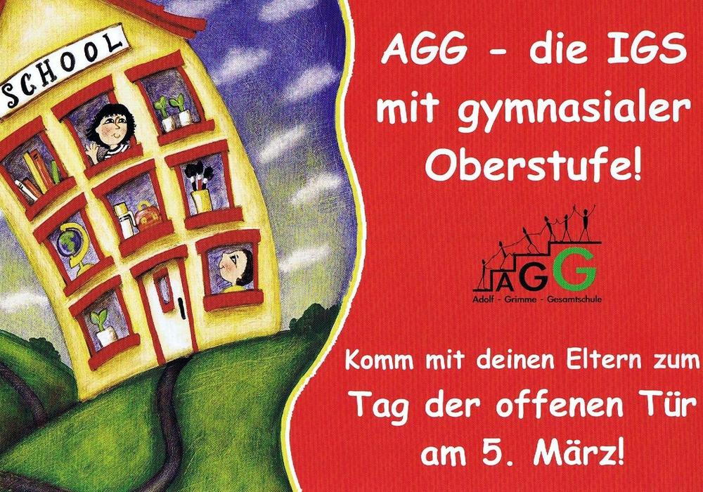 Am 5. März ist Tag der offenen Tür der Adolf-Grimme-Gesamtschule, Bei der Eiche 5 in Oker.  Foto: Privat
