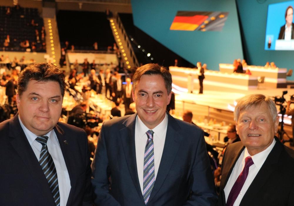 Uwe Schäfer, David Mcallister und  Helmut Sauer, Foto: privat