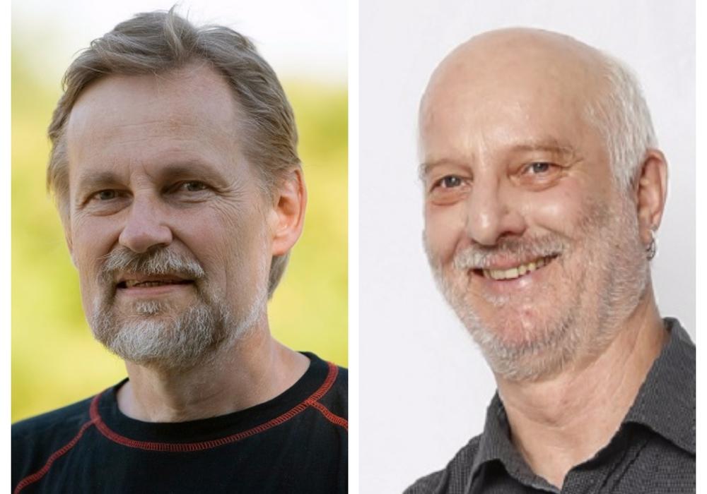 Peter Rosenbaum (li.) und Jürgen Reuter. Fotos: BIBS