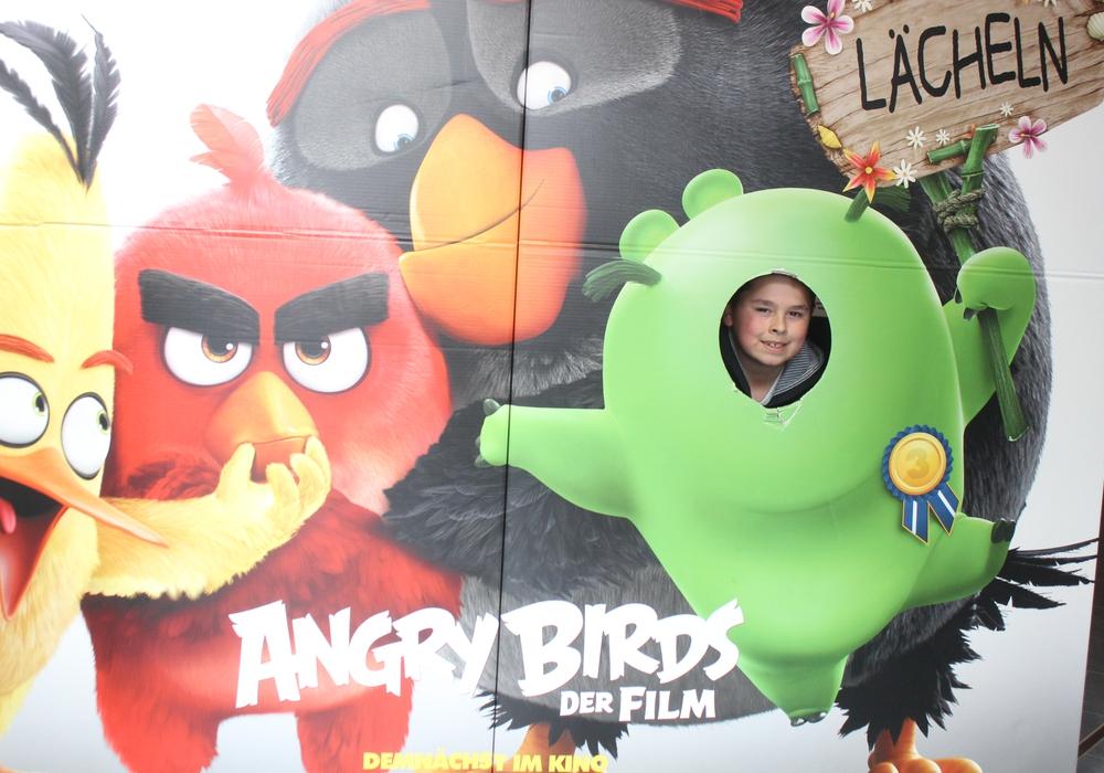"""Seit Kurzem läuft der Animationsfilm """"Angry Birds"""" im CineStar Wolfenbüttel. Foto: Anke Donner"""