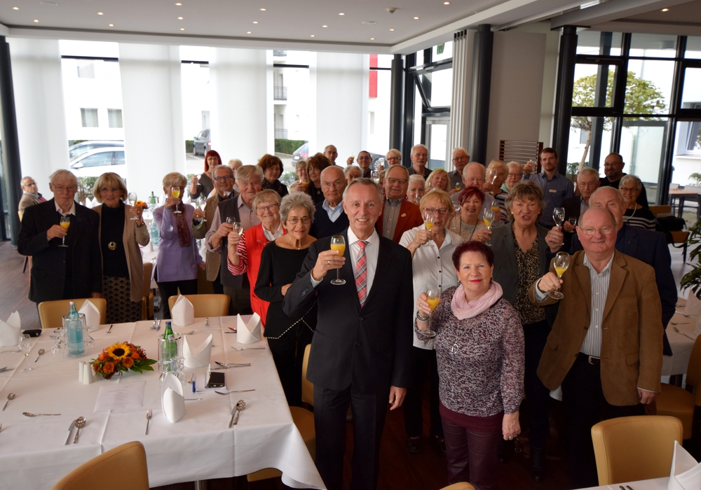 Die VWI feierte mit ihren langjährigen Mietern. Foto: VWI