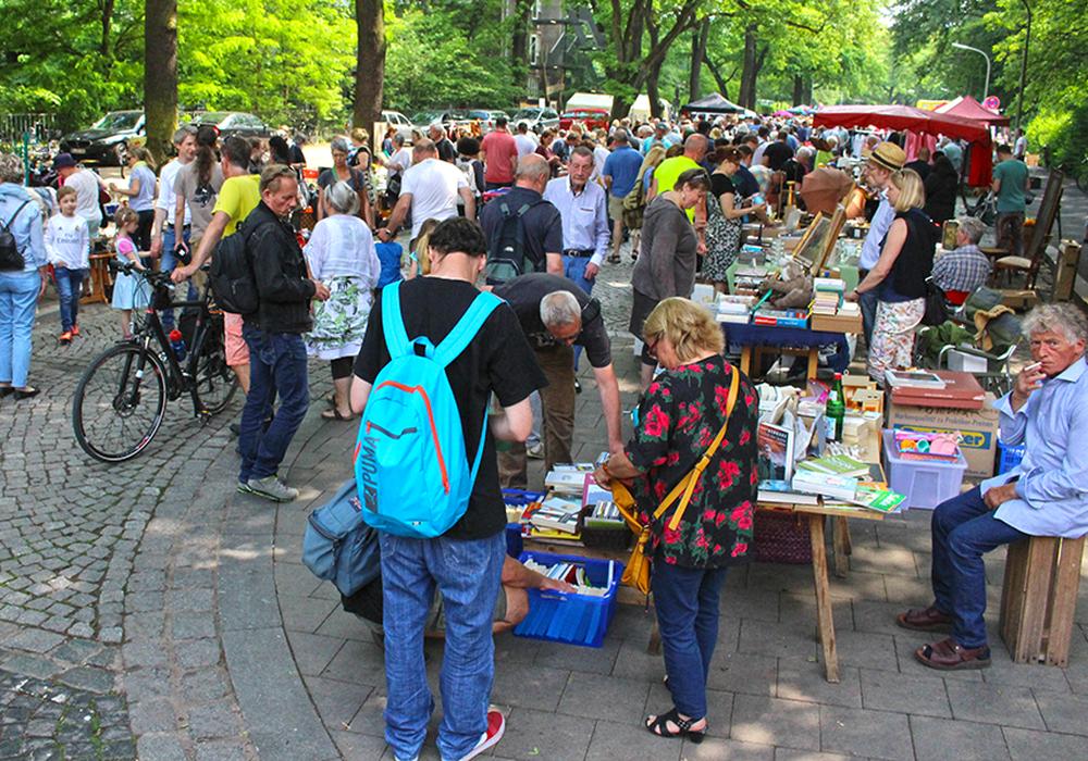 Anmeldungen für die Flohmarktstände können noch angemeldet werden. Foto: Frank Vollmer