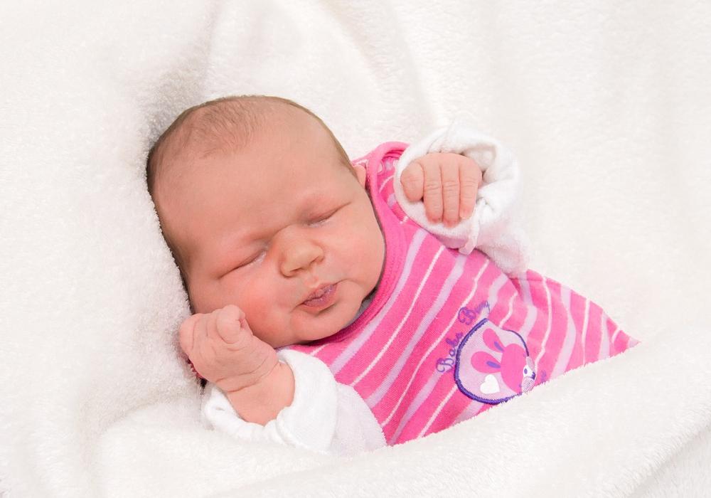Willkommen, Finja Sophie Rosenthal. Foto: Karen Sierigk, Städtisches Klinikum