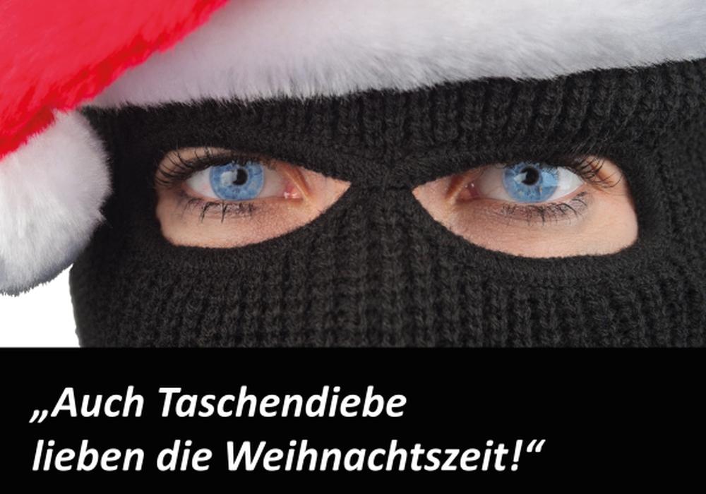 Die Polizei warnt vor Taschendieben auf Weihnachtsmärkten. Foto: Polizei