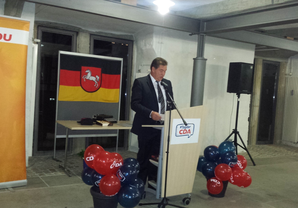 CDA-Landesvorsitzender Uwe Lagosky. Foto: CDA