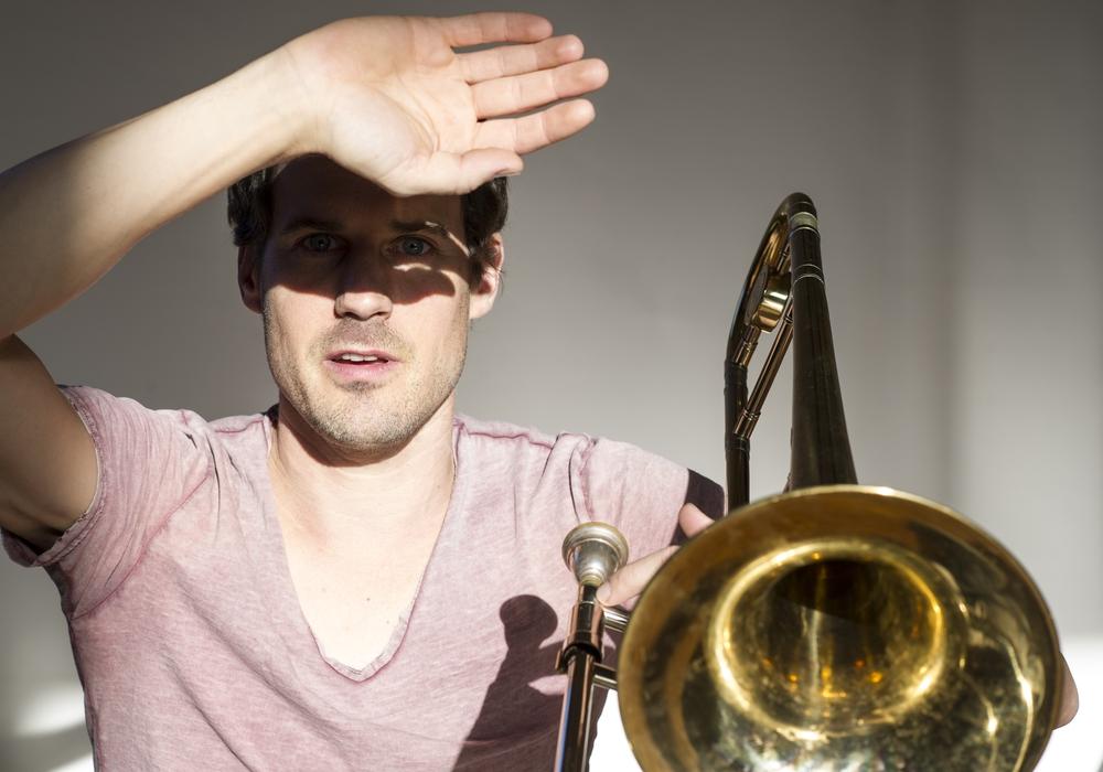 Jazzmusiker Nils Wogram. Foto: Veranstalter