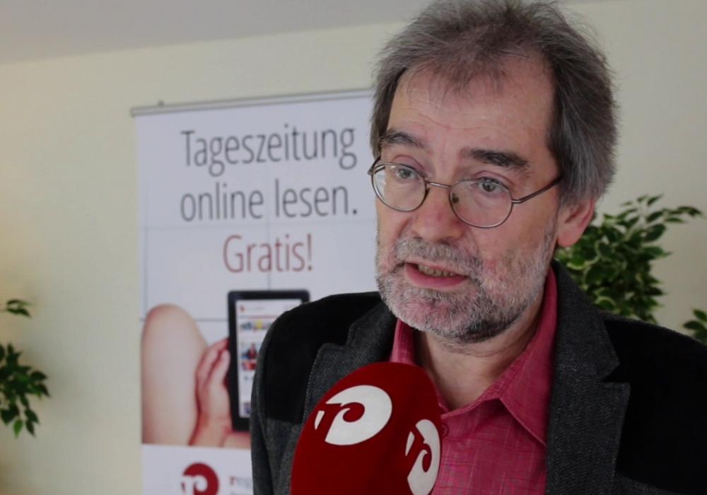 Henning Wehrmann Bürgerliste Goslar. Foto: Werner Heise