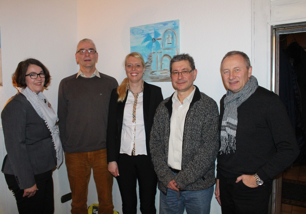 Landtagsabgeordnete Susanne Schütz und der FDP Kreisvorstand Salzgitter (Thomas Wüste (stellvertretender Kreisvorsitzender), Bianca Bärecke (stellvertretende Kreisvorsitzende), Ralf Ludwig (Kreisvorsitzender) und Michael G. Ehret (Schatzmeister)). Fotos: Jonas Walter