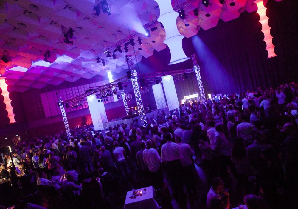 Bei der Ü30-Party in der Stadthalle Braunschweig werden zirka 3.000 Besucher erwartet. Foto: eMax Entertainment