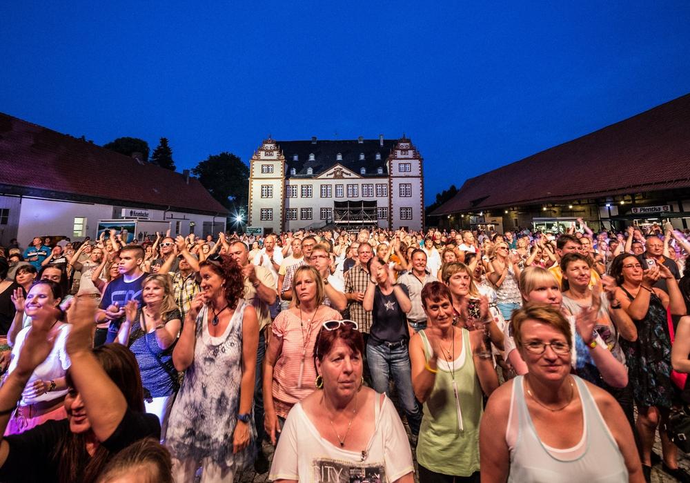 Viele Besucher beim Kultursommer. Archivfoto: Stadt Salzgitter